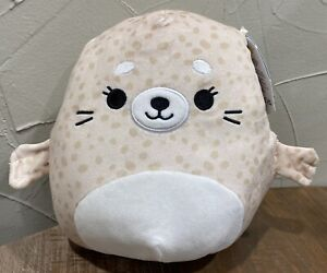 """Lilou Spotted Seal Summer Squad Squishmallow 2021 NWT 8""""  Kellytoy"""