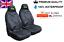 Jeep Wrangler Premium Protectores De cubiertas de asiento de coche 100/% A Prueba De Agua//Negro