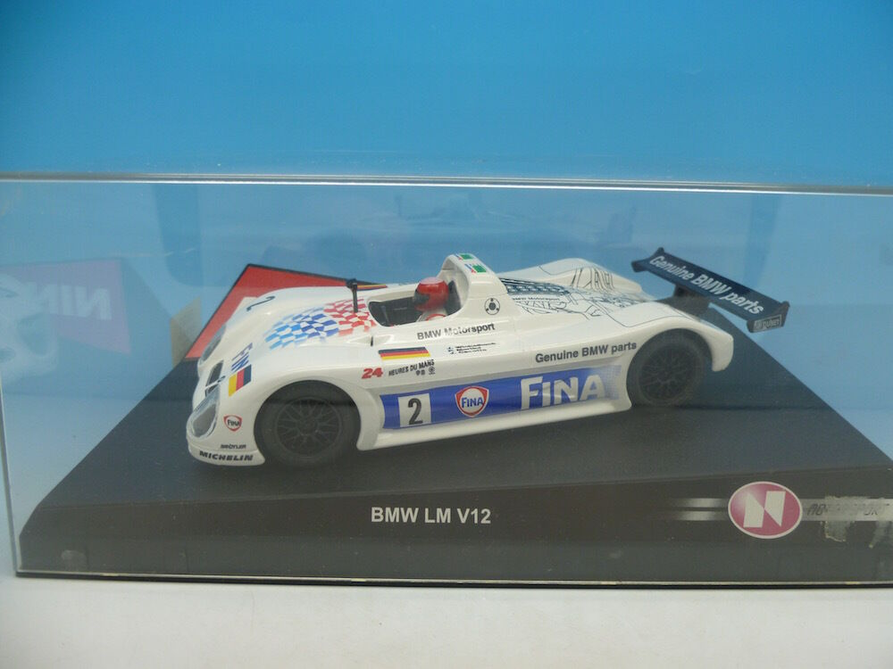 Ninco 50193 BMW v12 LM, Fina, mint unused boxed