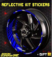 suzuki gsx 1300 r hayabusa rim stripe wheel stickers decals reflective set inner