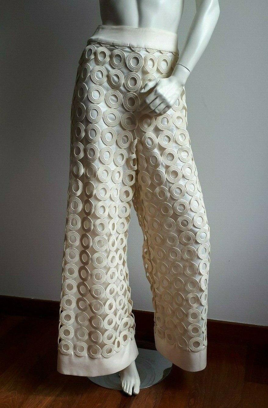 New SPORTMAX by MAX MARA Macrame' Trousers Größe M  from RUNWAY