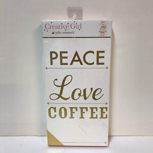 Peace-Love-Coffee-Creative-Girl-Julie-Comstock-Watercolor-Art-Block-Craft-Design