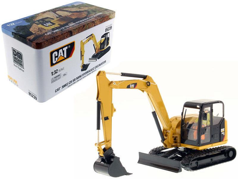 CAT Caterpillar 308E2 CR SB MINI PELLE HYDRAULIQUE 1 32 DIECAST Masters 8523