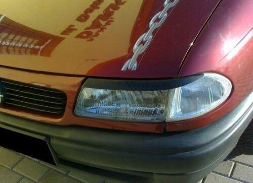 """OPEL ASTRA F 94-00 ABS - TUNING-GT grundiert SCHEINWERFERBLENDEN /""""P/"""""""