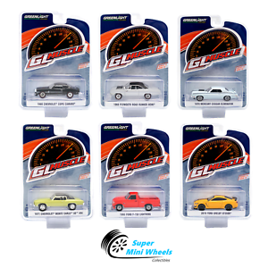Greenlight-1-64-GL-Muscle-Series-22-SET-OF-6-Diecast-Cars-13250