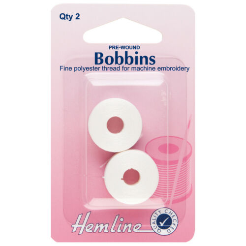 5x Bobbin Pre-Wound Thread Sewing Craft Tool Hobby Art UK Bulk Filoro