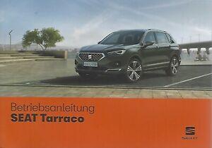 SEAT-TARRACO-Betriebsanleitung-2019-Bedienungsanleitung-Handbuch-Bordbuch-BA