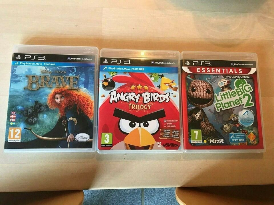 ANGRY BIRDS - BRAVE - LittleBIGPlanet 2 m/ PS Move,