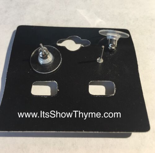 Horse Show Competition Earrings 13mm Topaz