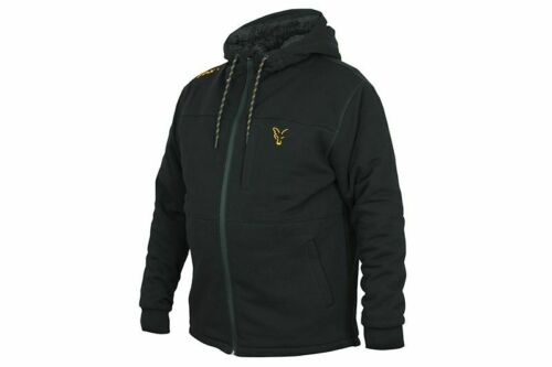 FOX Collection Black//Orange Sherpa Hoodie M by TACKLE-DEALS !!!