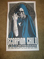 Scorpion Child Autographed Poster