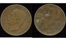 ITALIE  10 centesimi 1923