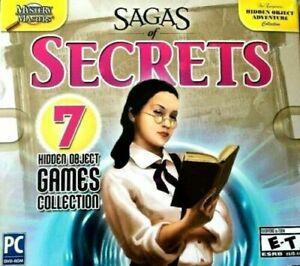 Sagas Of Secrets PC Games Windows 10 8 7 XP Computer Hidden Object Collection