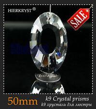 "1 Rainbow Chandelier Glass Crystals Lamp Prisms Parts Hanging Drop Pendant 2"""