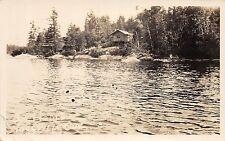 CANADA Ontario Postcard Real Photo RPPC c1930s NOELVILLE Ontario Houle Cabin 142