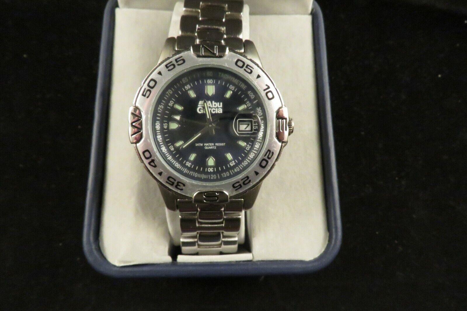 Abu Garcia Promotional Moruum Ambassadeur Baitcasting Fishing Reel Wrist Watch