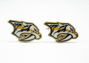 Nashville-Predators-Cufflinks-NHL-Hockey