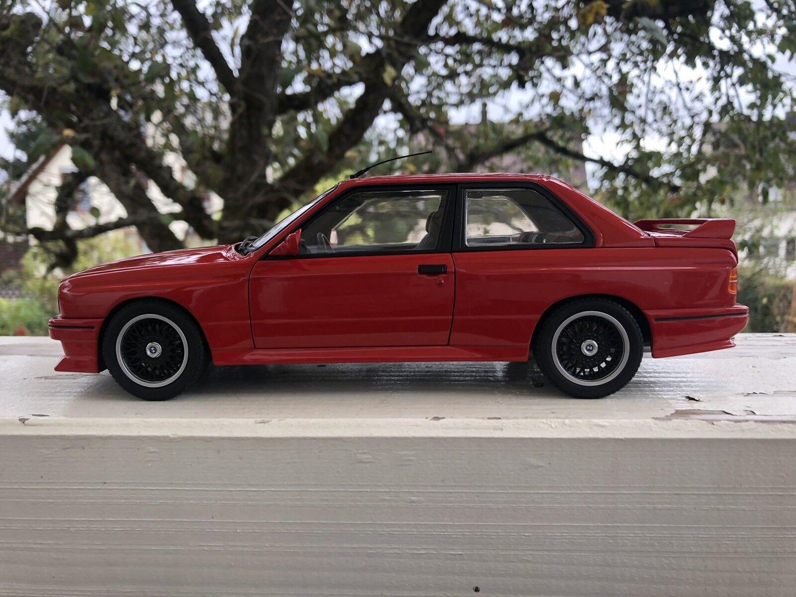Autoart 1 18 BMW M3 Cecotto Edition e30  | Rabatt