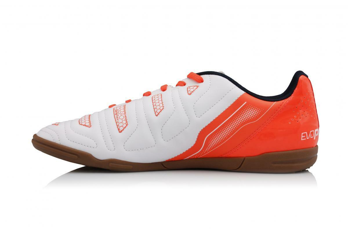 PUMA EVO POWER 4.2 IT LOW SNEAKERS uomo SHOES WHITE/ORANGE 103224-05 SIZE 11 NEW Scarpe classiche da uomo