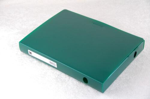 Sammelbox Archivbox Ablagebox A4 5 Stück grün A4