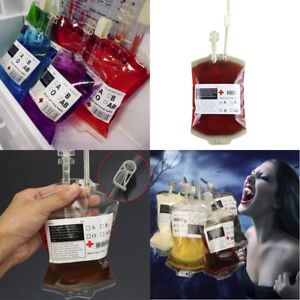 5PCS-Reusable-Blood-Energy-Drink-Bag-Halloween-Pouch-Props-Vampire-Cosplay