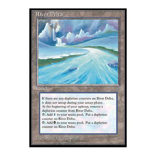 Anglais River Delta Ice Age n°359 NM MTG Magic