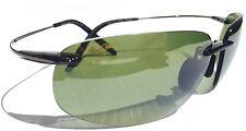 NEW* Maui Jim MALA Flex memory Black frame w Green HT Lens HT525-11 $329 ANGLER