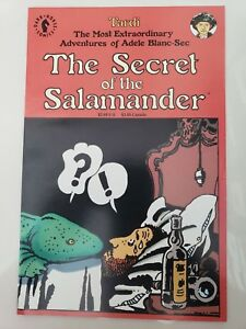 THE-SECRET-OF-THE-SALAMANDER-One-Shot-1992-DARK-HORSE-COMICS-1ST-PRINT