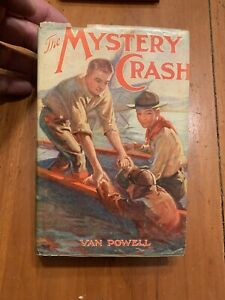 1932-The-Mystery-Crash-Van-Powell-Series-1-First-Edition-W-Dust-Jacket