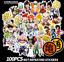 100Pcs-Lot-Anime-Dragon-Ball-Z-Super-Saiyan-Goku-Stickers-Autocollant-pour-ordinateur-portable miniature 1
