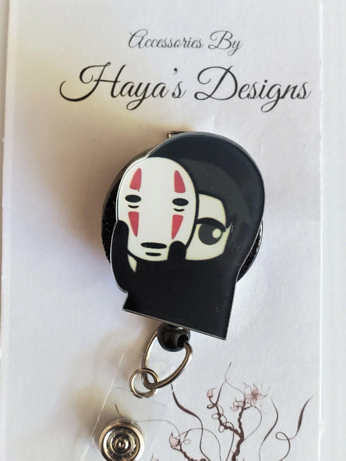 Anime Badge Reel, Retractable ID Badge, Stethoscope ID