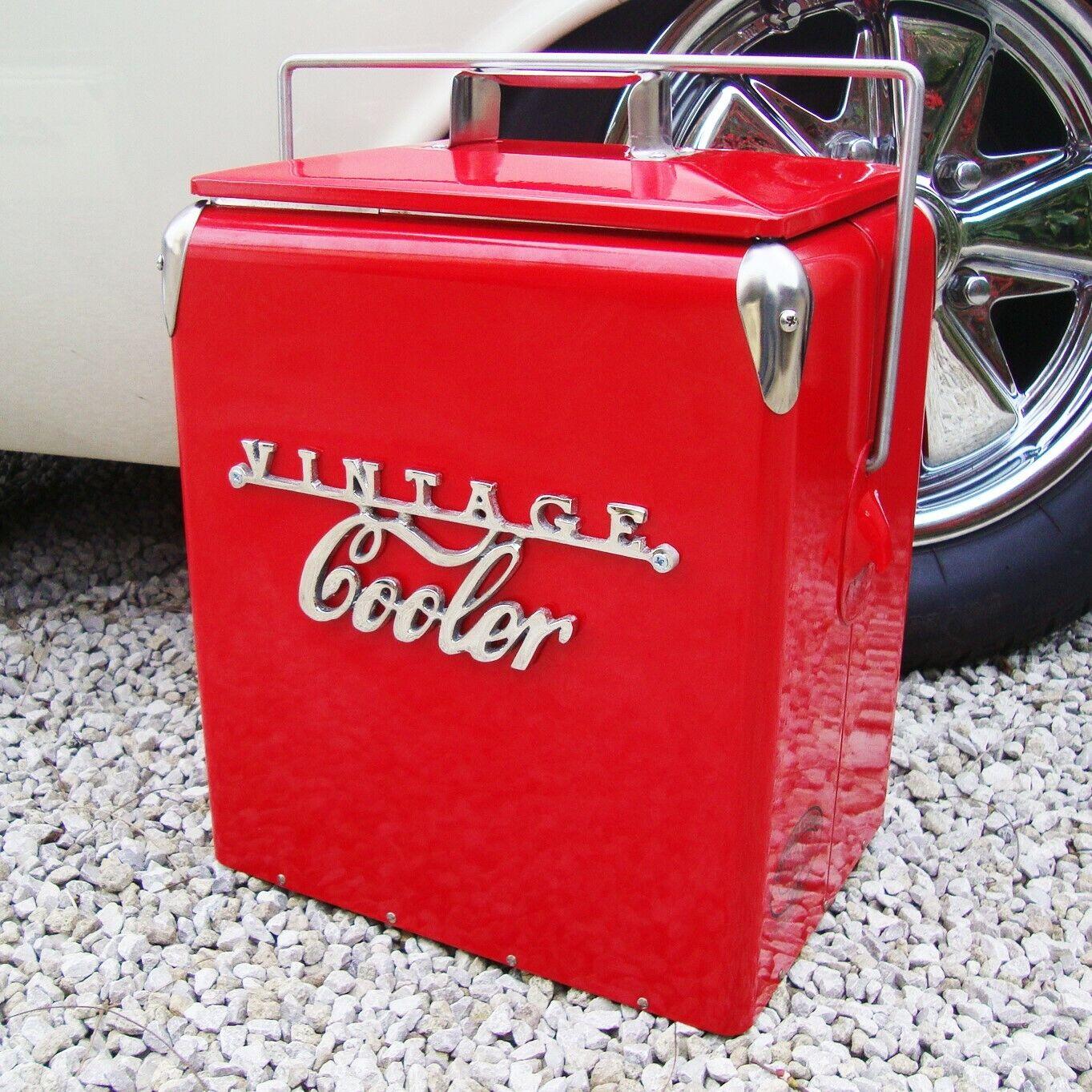 Vintage Refrigeratore Borsa Frigo Retrò Rosso Coca Cola Frossodo Vw Matrimonio