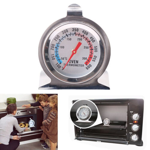 1PCS Stainless Steel Temperature Oven Thermometer Gauge Kitchen Food Cooking