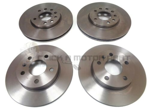 VAUXHALL ASTRA H MK5 FRONT /& REAR BRAKE DISCS SET NEW 5 STUD 2004-2009