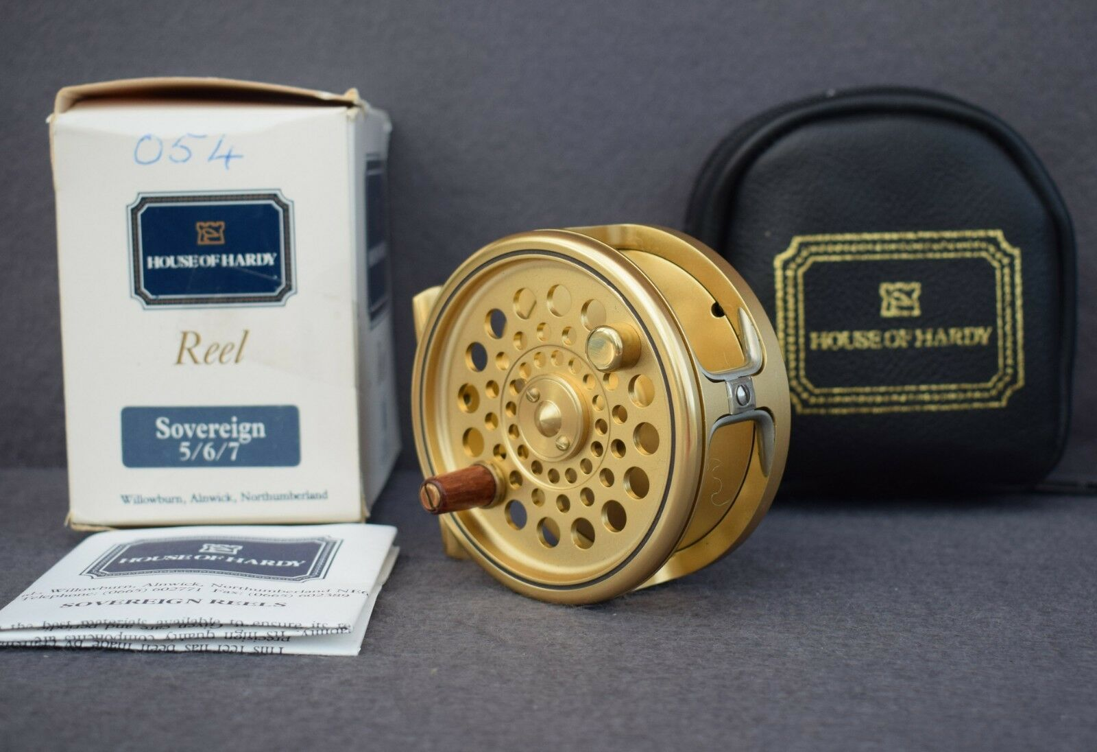Hardy  Sovereign    5/6/7    Fly Reel  -   5/6/7 Ltd Ed  54 01c577