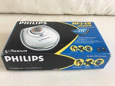 Hardwerkend Philips Discman Expanium Exp-211 Portable Mit Mp3-funktion - Geprüft Vom Händler Winst Klein