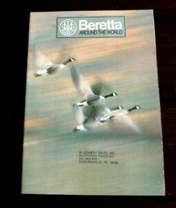P. Beretta ~ Autour Du Monde ~ 1994 Droit D'auteur/pistolet Brochure Catalogue ~ 64 Pgs-afficher Le Titre D'origine