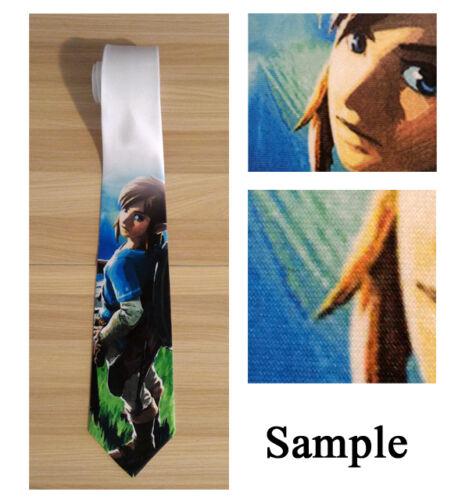 Fairy Tail Gajeel Natsu Necktie Neck Tie Men Halloween Tie Cosplay Anime Gift