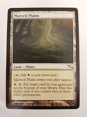 1x Mistveil Plains MTG Ultimate Masters NM Magic Regular