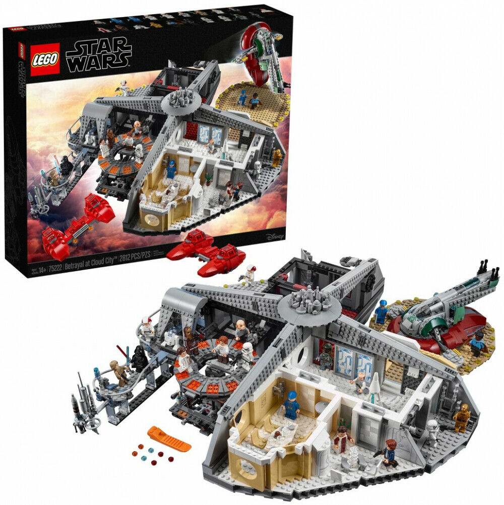 Lego Star Wars TRAHISON AU cloud city 75222 Enfant Jouet eau