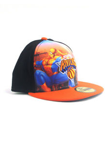 799795d8504 New Era NBA New York Knicks 59fifty Fitted Hat Size 7 3 8 Spider-Man ...