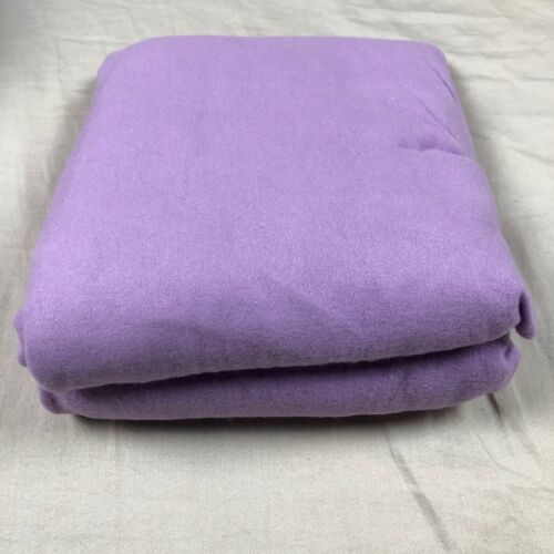 TILLYOU 100/% Cotton Flannel Crib Sheet Ultra Soft Fitted Toddler 28X52 Lavender