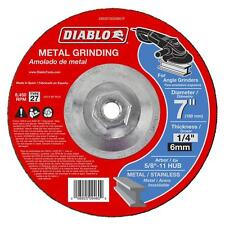 Diablo 7 inch Metal Steel Grinding Disc Wheel Disk Angle Grinder Tool Attachment