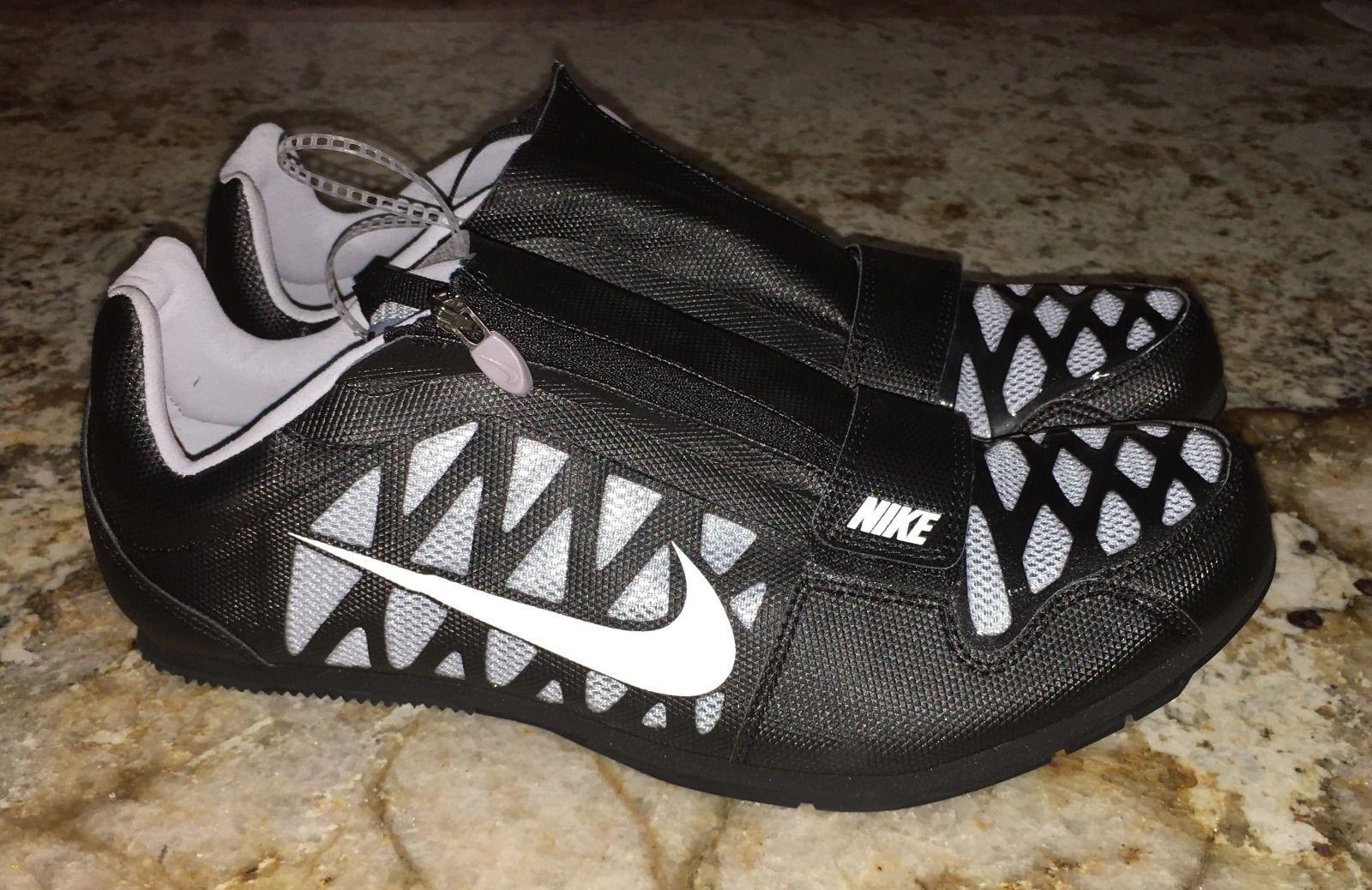 38b761048cd Nike Zoom LJ 4 Track   Field Long Jump Shoes Spikes Black Gray ...