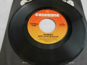 Journey-Don-039-t-Stop-Believin-039-45-original-first-press-on-Columbia