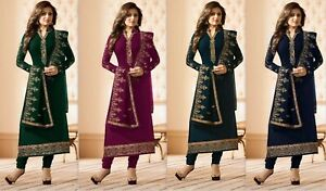 Salwar-Suit-Kameez-Pakistani-Indian-Shalwar-Dress-Designer-Wear-Party-RD