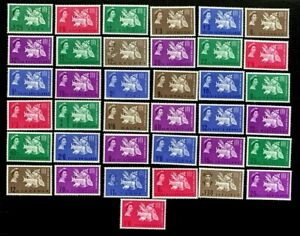 British-Colonies-1963-Freedom-from-Hunger-Stamps-Set-of-37