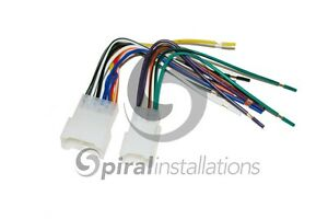 s l300 metra 70 1761 radio wire harness for aftermarket radio stereo Boss Radio Wiring Harness at virtualis.co