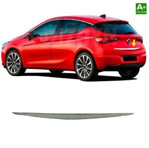 Cromo Heck barra alfombrilla de barra de acero inoxidable para Opel Astra K a partir de 2015