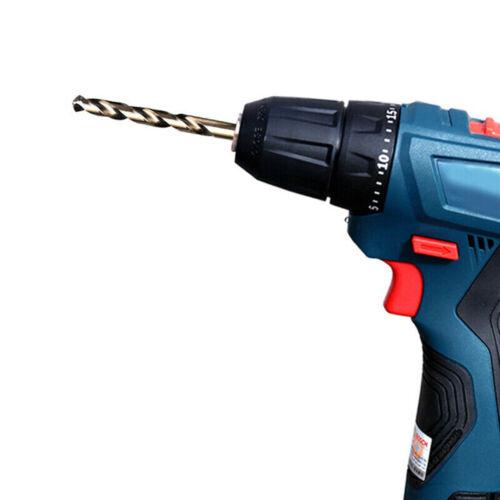 M42 HSS Twist Drill Bit Set For Stainless Metal 8/% High Cobalt Copper Iron Bits